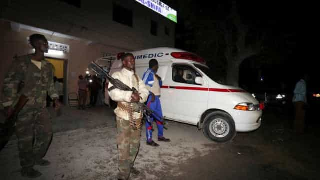Eis as imagens do terror que se viveu este sábado na Somália