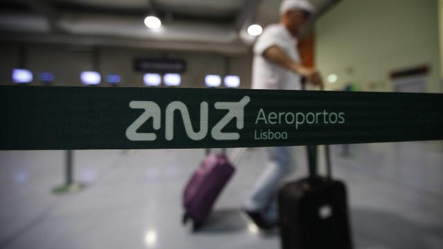 Taxas reguladas no aeroporto de Lisboa deverão subir 1,44% em março