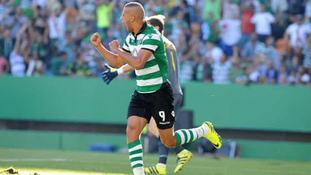 Sporting pensa no regresso de Slimani