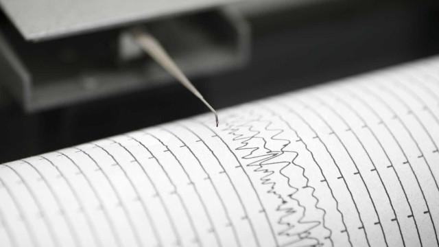 Atividade sísmica registada na Terceira, Açores