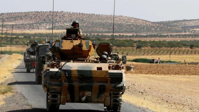 Tropas norte-americanas começam a retirar da Síria