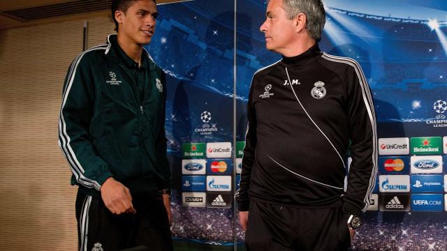 """O """"desafio"""" de Mourinho que Varane não esquece"""