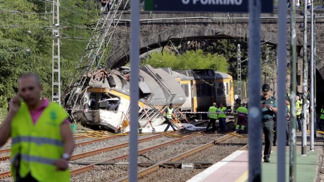 Espanha: Restabelecida circulação na linha onde descarrilou comboio