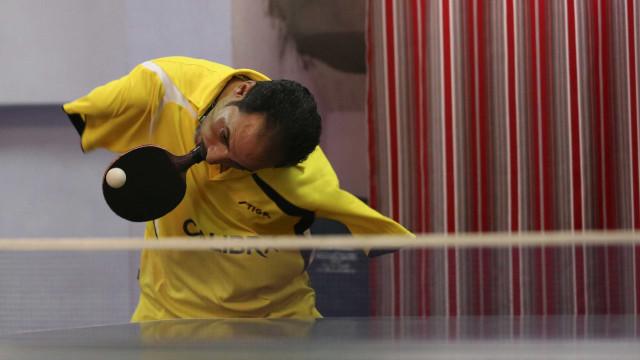 Hamato: O mesa-tenista paralímpico que impressiona o mundo e admira CR7