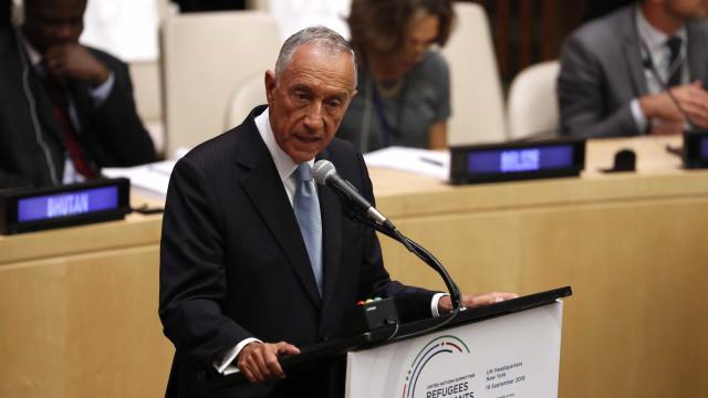 """Marcelo deseja os """"maiores êxitos"""" ao novo presidente do Supremo Tribunal"""