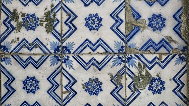Azulejos do século XVII furtados do Mosteiro de Odivelas