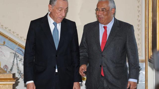 """Costa considera """"muito provável"""" visita de Estado de Marcelo em 2019"""