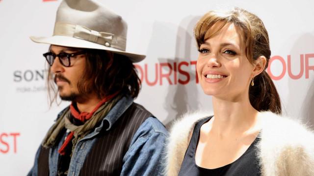 Angelina Jolie e Johnny Depp juntos? Atriz quer vingar-se de Brad Pitt