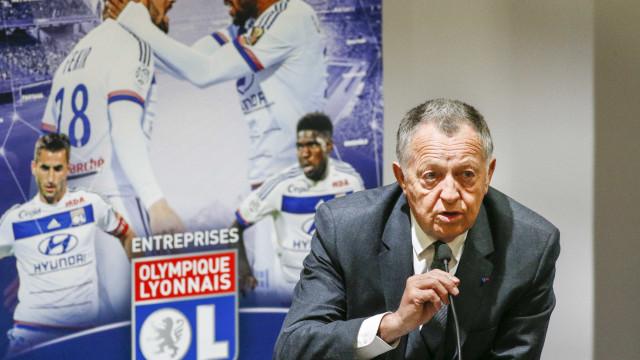 Presidente do Lyon 'ataca' Luís Filipe Vieira e... Florentino Pérez