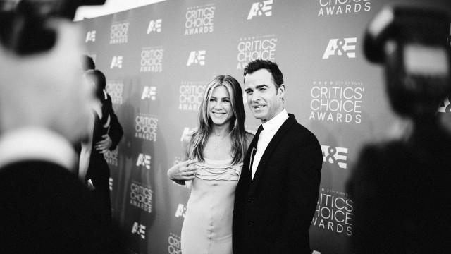 """Theroux após divórcio de Aniston: """"Não me importa o que pensam"""""""