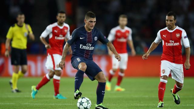 """Verratti nega rumores: """"Tenho o desejo de ganhar com o PSG"""""""