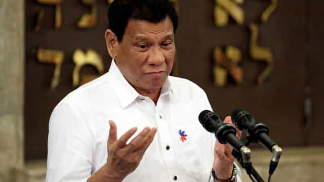 Duterte formaliza fim do processo de paz com rebeldes comunistas