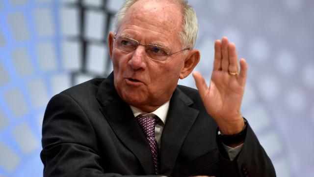 """Corte parcial da dívida grega? """"Não está na agenda"""", diz Schäuble"""