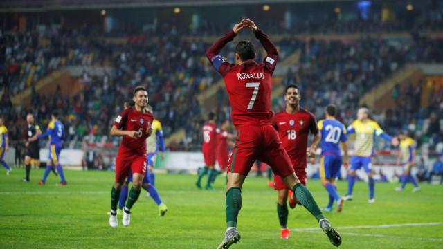 Portugal iguala a melhor classificação de sempre no ranking da FIFA