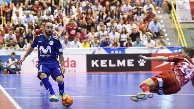 """Ricardinho ganha mas critica adversário: """"Isto não é jogar futsal"""""""