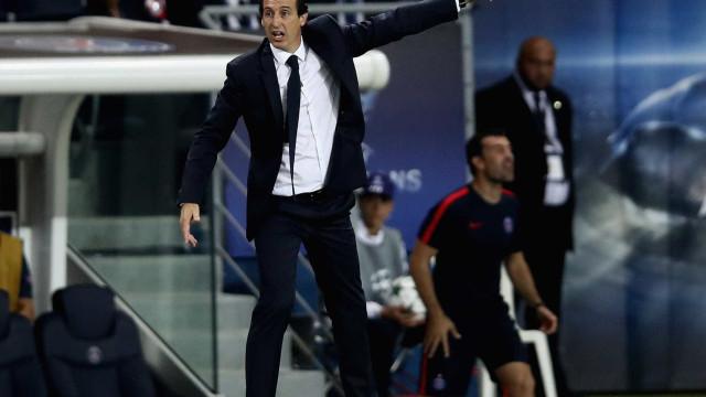 Emery não confirma, nem desmente interesse em Neymar