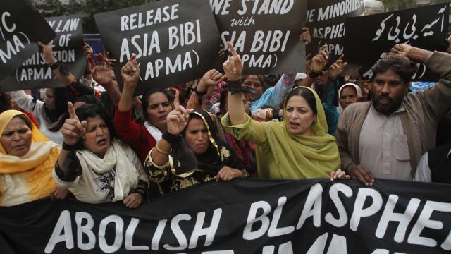 Asia Bibi libertada depois de anos no corredor da morte por blasfémia