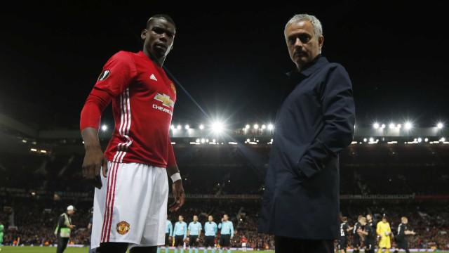 Mourinho desmente má relação com o plantel e aborda 'caso Pogba'