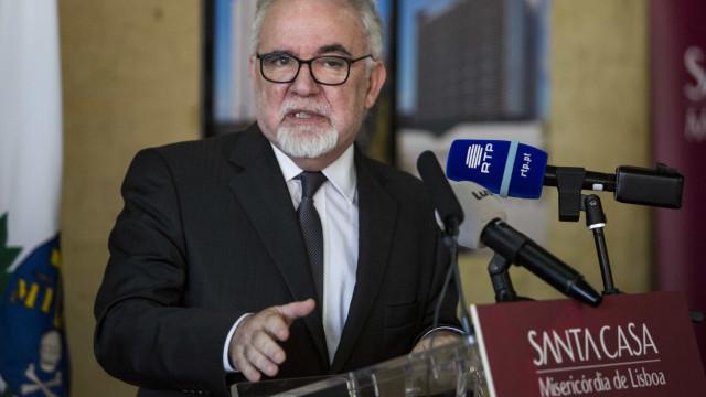 Santa Casa no setor financeiro foi ideia de Santana Lopes, diz ministro