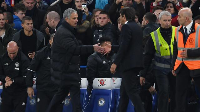 """Conte: Mourinho fala de """"vítimas"""" e diz que troca de galhardetes acabou"""