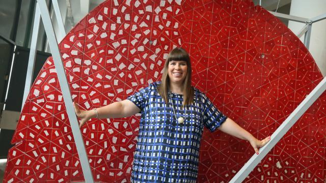 Joana Vasconcelos em Paris para abrir arte contemporânea a novos públicos