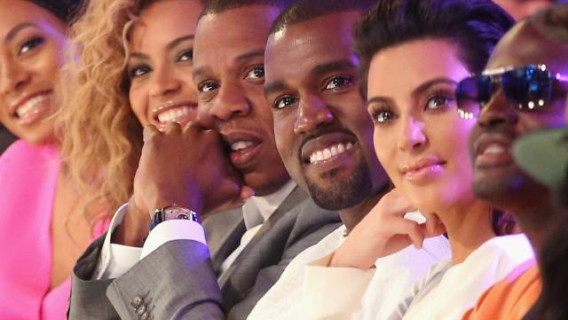 Beyoncé e Jay-Z oferecem presente com diamantes a bebé de Kim e Kanye