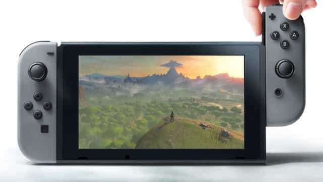 Nintendo prepara versão portátil da Switch