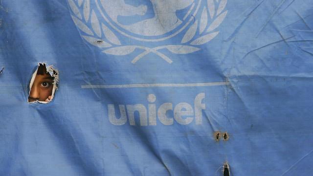 """Unicef publica nota em branco por estar """"sem palavras"""" após novos ataques"""