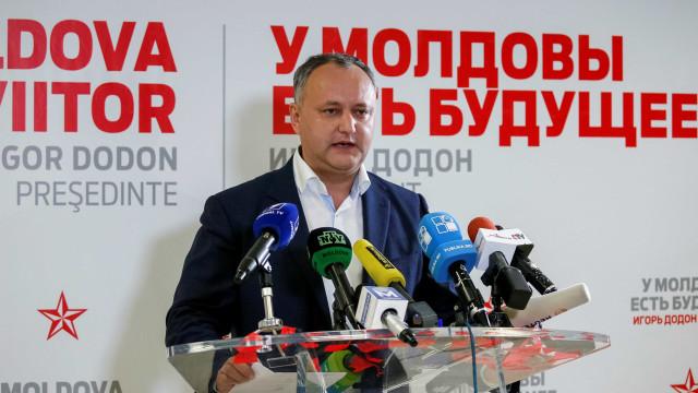 Presidente moldavo hospitalizado com ferimentos ligeiros após acidente