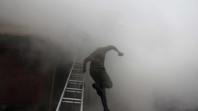 Incêndio em Aveiro leva a evacuação de lar de idosos