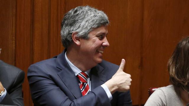 É oficial. Mário Centeno avança com candidatura ao Eurogrupo