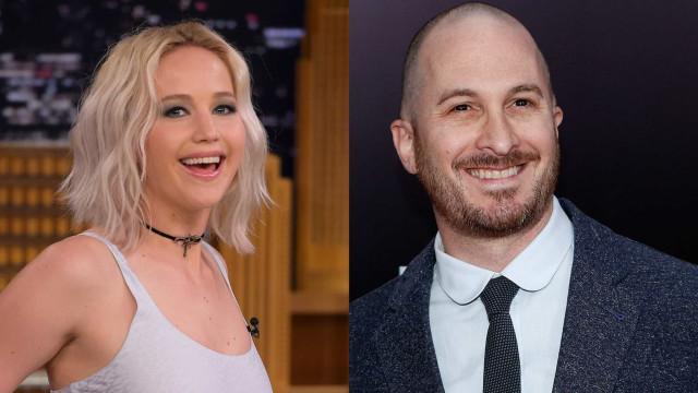 """Relação de Jennifer Lawrence e Darren Aronofsky """"está a ficar séria"""""""