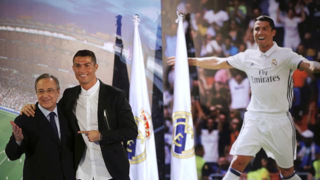 Florentino Pérez revelará segredos sobre a saída de Ronaldo