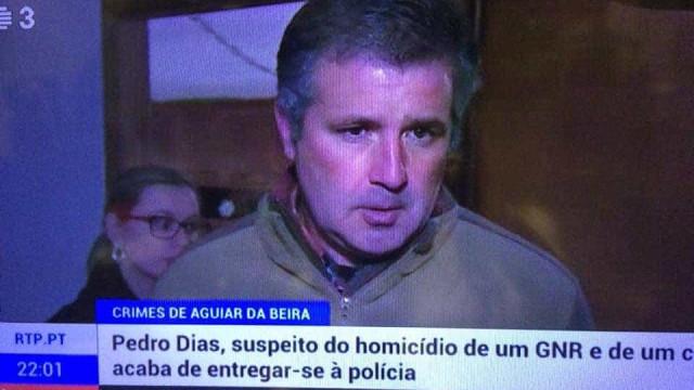 Pedro Dias entregou-se à polícia