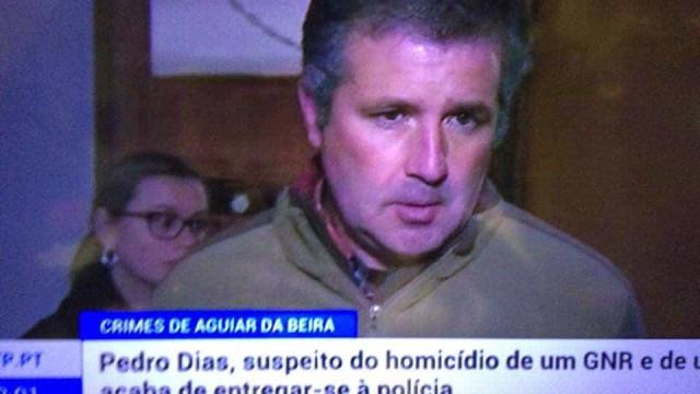 """Pedro Dias entregou-se para """"preservar a sua segurança"""""""
