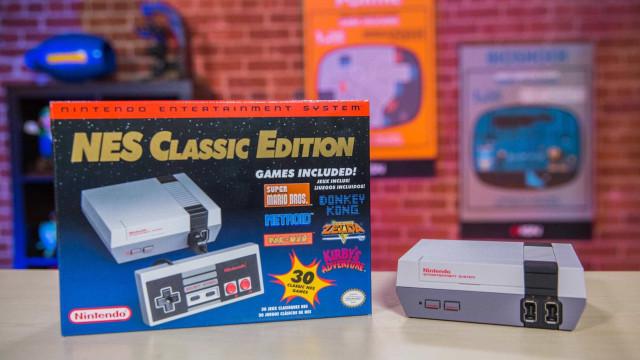 Terá uma nova oportunidade de ter uma NES Classic
