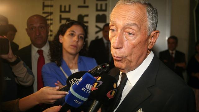Presidente da República garante que não sabia do encobrimento de Tancos