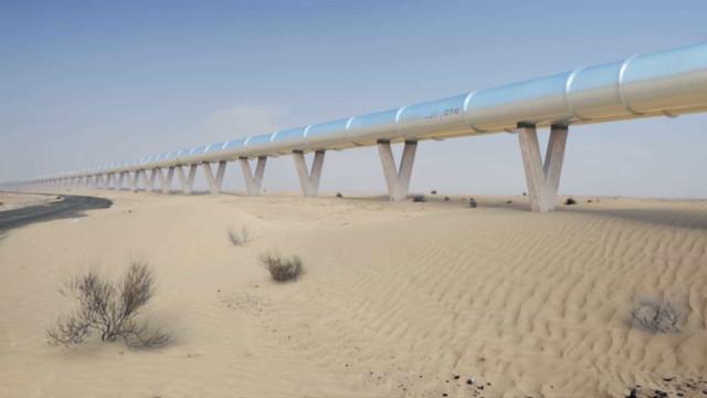 A 'casa' da Apple pode vir a ter um Hyperloop