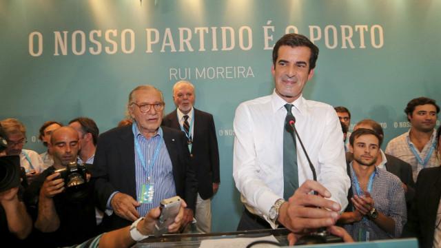 Apoiantes de Rui Moreira criam associação 'Porto, o Nosso Movimento'