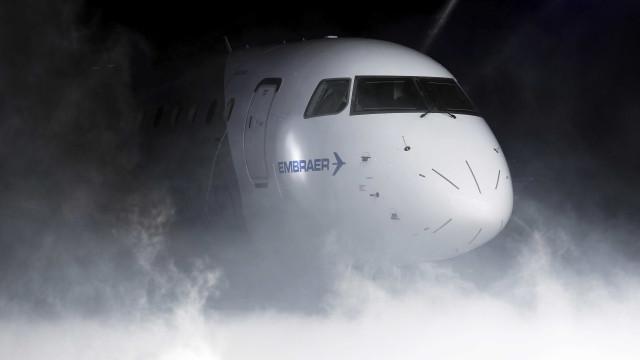Dois feridos num incidente na empresa de aviação Embraer em Évora