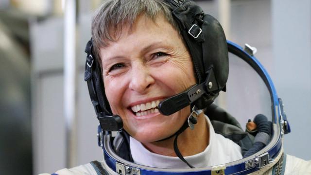 Astronauta com mais tempo no espaço despede-se da Nasa