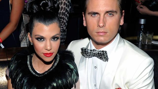 Kourtney Kardashian em 'choque' com a ideia de Scott Disick casar