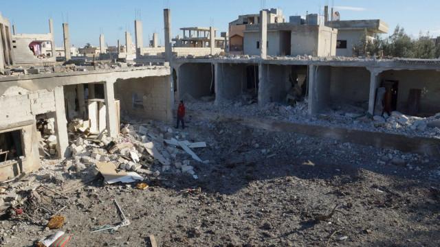 Mais de 200.000 deslocados regressam a casa na província de Deraa