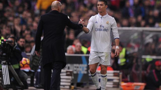 Afinal, Ronaldo vai ter de esquecer a companhia de Zidane