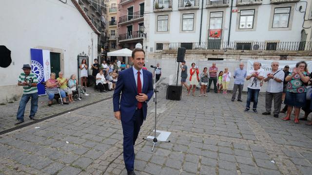"Júdice cruza-se com Medina e critica a ""chaga"" deixada em Lisboa"