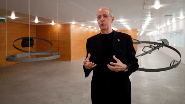 """Berardo quer vender a coleção """"desde 1999"""", diz Francisco Capelo"""