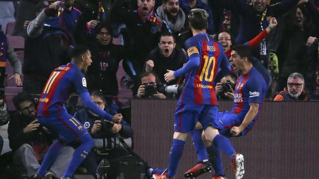 """Luis Suárez também já se despediu de Neymar: """"Gosto de ti, irmãozinho"""""""