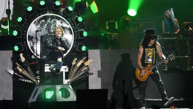 Guns N' Roses fecha dia do Rock in Rio com concerto de três horas e meia