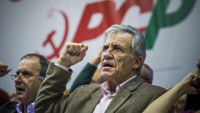 """Jerónimo de Sousa: Se o PS tiver """"mãos livres"""" há risco de retrocesso"""