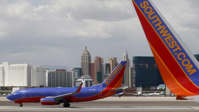 Um morto em voo da Southwest Airlines que perdeu motor